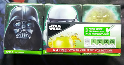 Nerdversity Reviews: Disney Star Wars Apple Juice