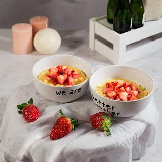 Risotto de Cava y fresas thermomix