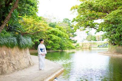 沖縄 着物 写真撮影