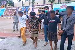 Satresnarkoba Polres Tanggamus Bekuk 8 Tersangka Narkotika di 3 Kecamatan di Wilayah Tanggamus