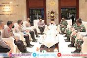 Kapolri Jenderal Listyo dan KSAL Sepakat Tingkatkan Kerjasama Keamanan Perairan Laut