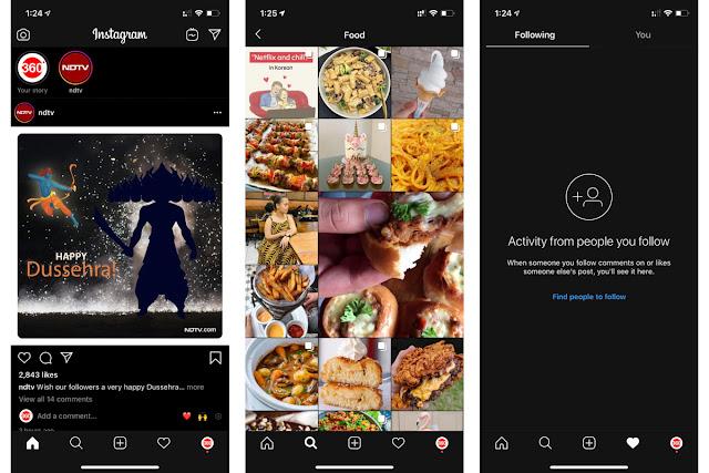 instagram new dark mode and security updates