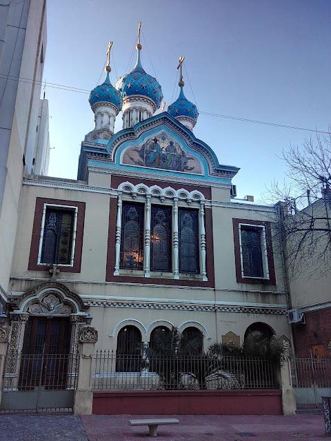 Iglesia Ortodoxa Rusa, San Telmo, Buenos Aires