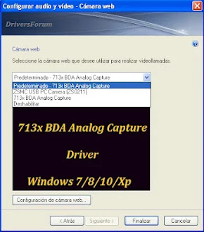 713x Bda Analog Capture Driver