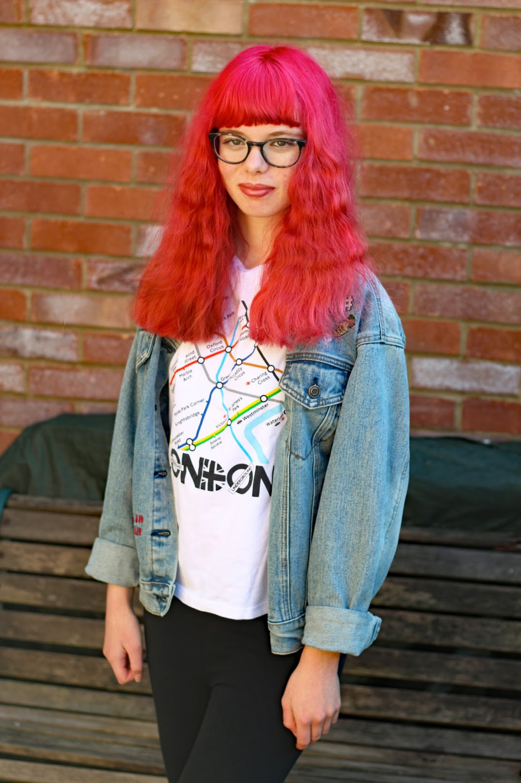 Why You Don't Have To Be Morbidly Thin To Have An Eating Disorder help support BEAT mental illness wellbeing depression blogger pink hair health