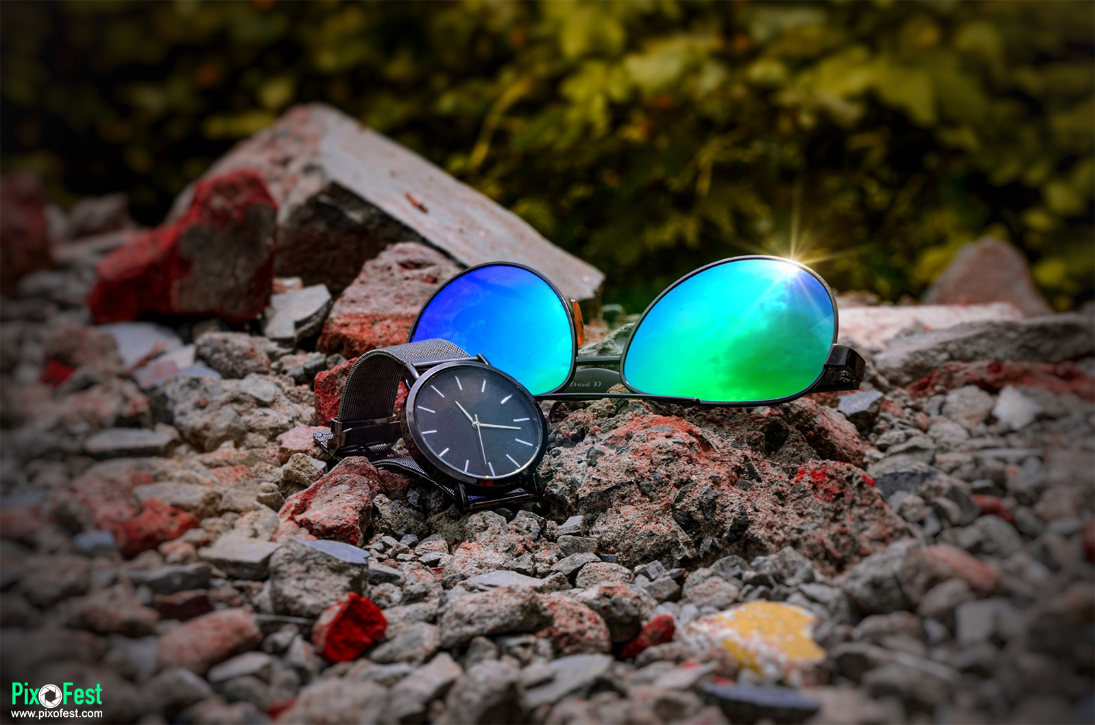 watch,sunglass,productshoot,product,bluesunglass,style,blackwatch,outdoorshoot,outdoorproductshoot,pixofest