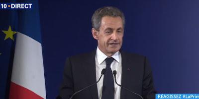 Nicolas Sarkozy: Je voterai pour François Fillon
