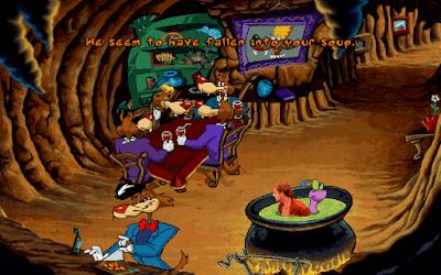 Pantallazo videojuego Toonstruck