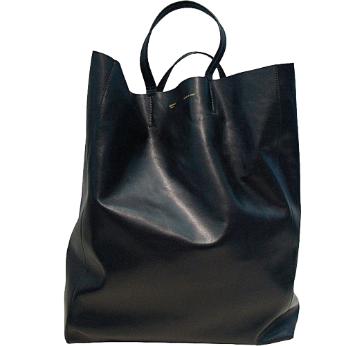 Celine Black Leather Tote | personal style, fashion, inspiration, aesthetic, basics, bags, minimalism, chic style, bohemian | Allegory of Vanity