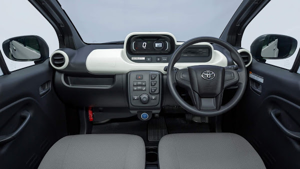 Toyota C+pod: compacto elétrico parte de R$ 83 mil - Japão