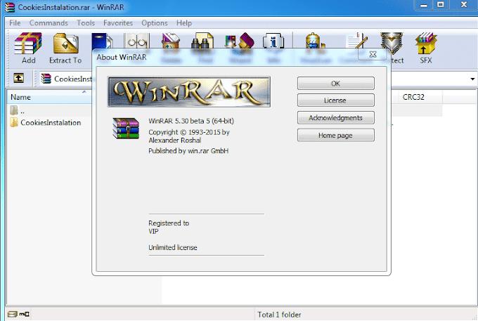 Phần mềm giải nén winrar miễn phí 32 bit và 64 bit