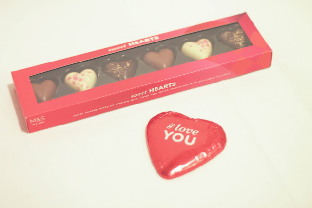 Valentine's day gifts chocolates from Marks & Spencer