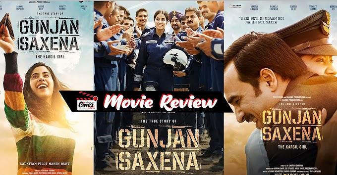 GUNJAN SAXENA | Movie Review | GUNJAN SAXENA The Kargil Girl (2020)