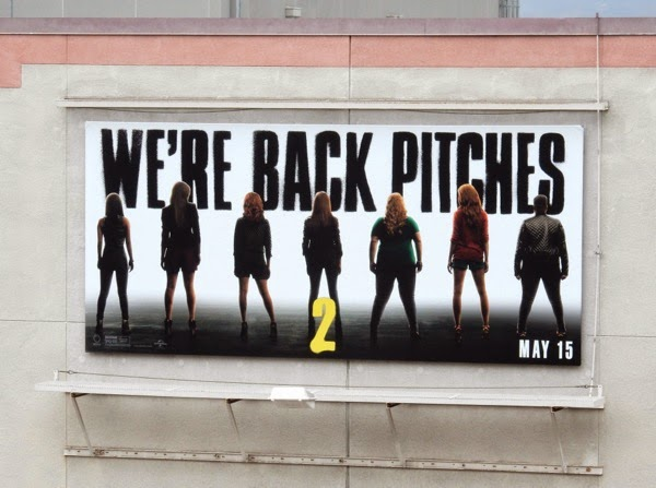 Pitch Perfect 2 teaser billboard