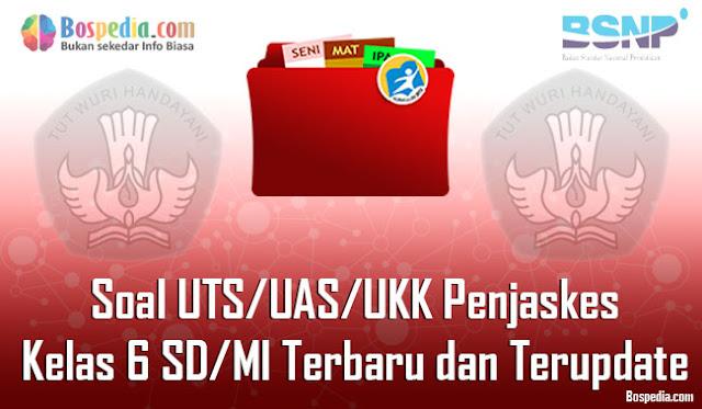 Soal UTS/UAS/UKK Penjaskes Kelas 6 SD/MI Terbaru dan Terupdate