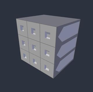 Storage system free STL file by Paul Van Gaans