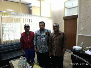 Hasil Pertemuan Bersama Dengan Sekda Bondowoso (Bapak Syaifullah)