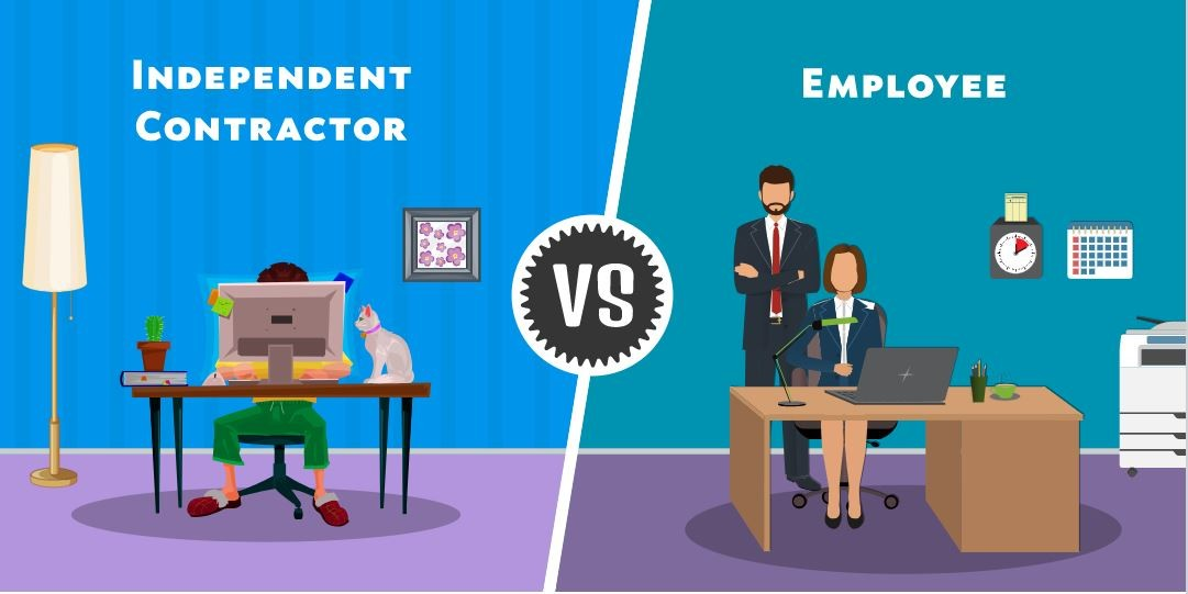 the Difference Between an Employee and an Independent Contractor