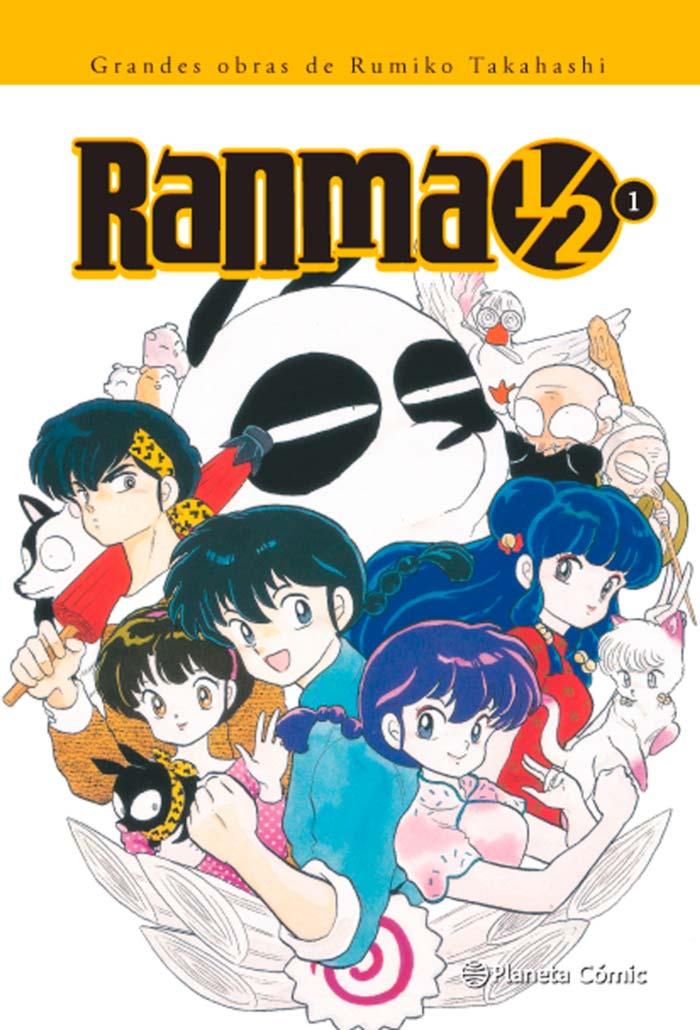 Ranma 1/2 manga - Planeta Comic