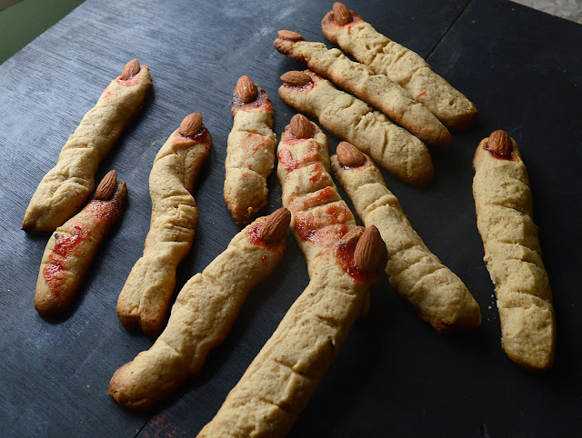 Witch Finger Cookies | Halloween Special