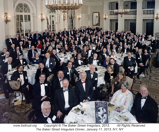 The 2013 BSI Dinner group photo