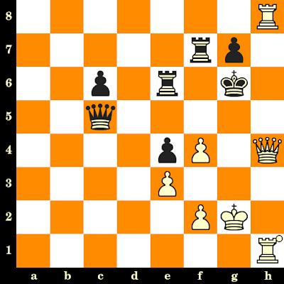 Les Blancs jouent et matent en 3 coups - Karl Ahues vs Gerhard Weissgerber, Allemagne, 1935