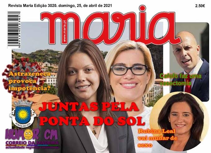 CM lança Revista Maria!