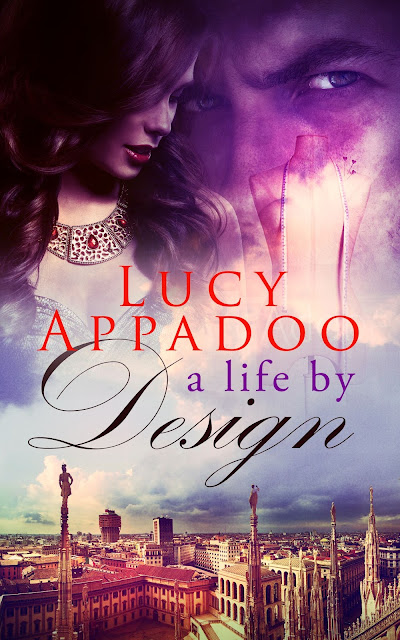 Book Cover for coming of age novel A Life by Design by Lucy Appadoo.