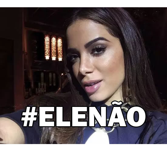 Anitta responde a eleitores de Bolsonaro: 'Não apoio Estuprador'