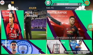 FIFA 14 Mod 18 Offline Graphic HD Apk + Data Obb
