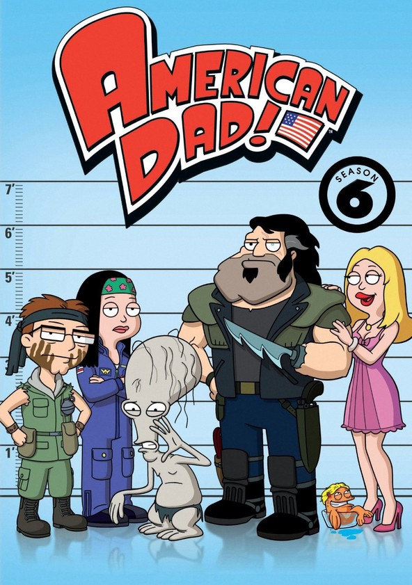 American Dad Temporada 6 Latino