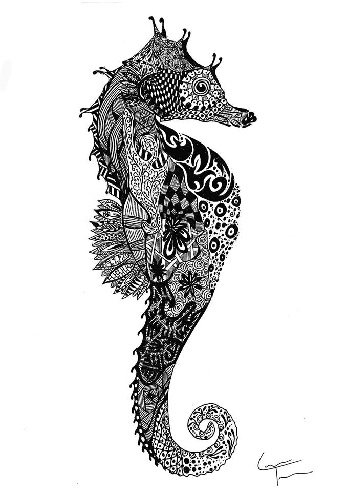 08-Seahorse-Telfer-Game-of-Thrones-Zentangle-and-more-www-designstack-co