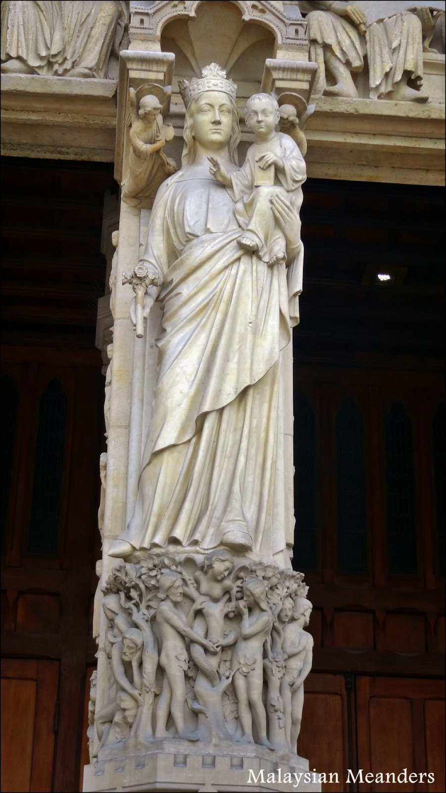 Malaysian Meanders Looking For Mary At Notre Dame