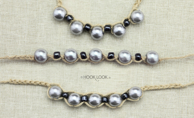 how to crochet a chain with pearl