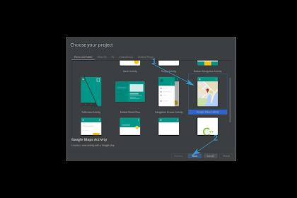 Tutorial Android Google Maps Sederhana