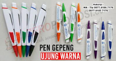 jual PEN BENTUK GEPENG, BP GEPENG, Pen Bolpoint Promosi, Pulpen Promosi Model Gepeng dengan harga murah