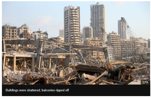 Beirut impact: Handfuls dead and thousands harmed, wellbeing clergyman says