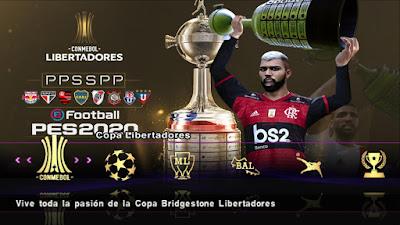 PES 2020 PPSPP Android Libertadores Season 2019/2020
