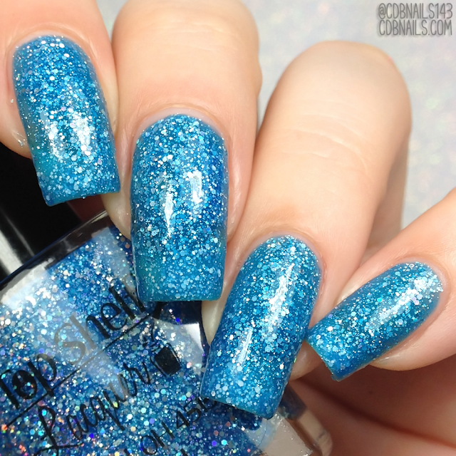 Top Shelf Lacquer-Blue Monkey