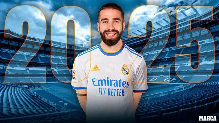 OFFICIAL: Carvajal extends contract with Real Madrid until 2025