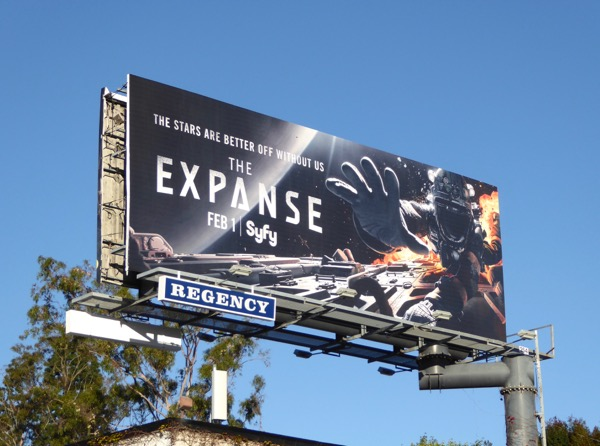 Expanse season 2 Syfy billboard