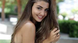 Hande Erçel is a Turkish actress and model best known for her lead role as Hayat Uzun in the TV series Aşk Laftan Anlamaz, which achieved huge success in Turkey and abroad,