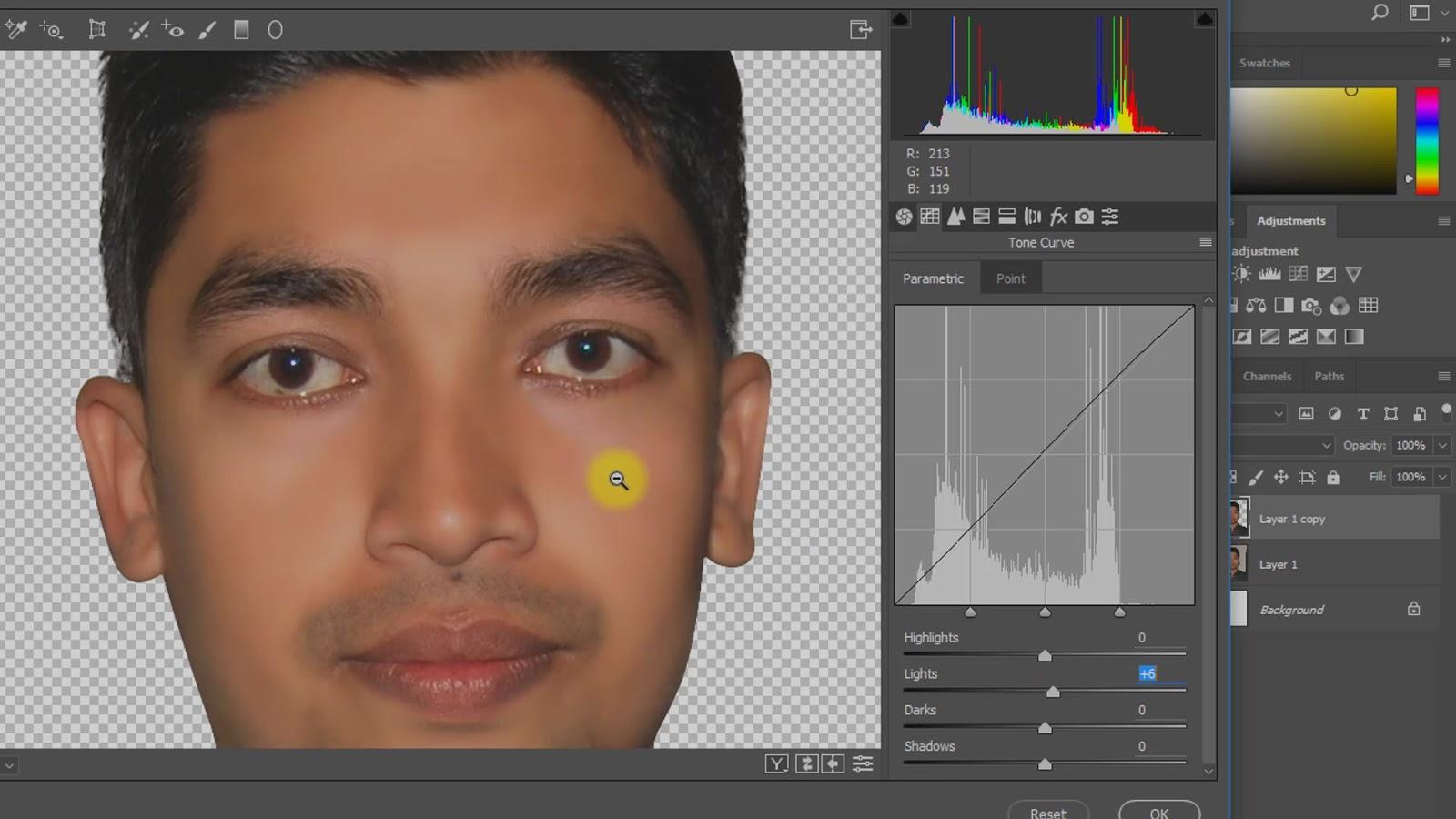 best way to create passport size photo screenshot 4