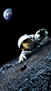 Apollo Astronaut Mobile HD Wallpaper