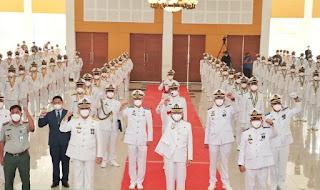 Poltekpel Banten Wisuda 143 Perwira Pelaut
