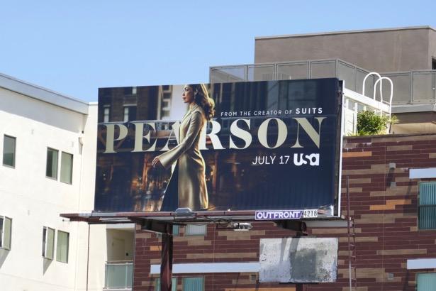 Pearson series premiere billboard