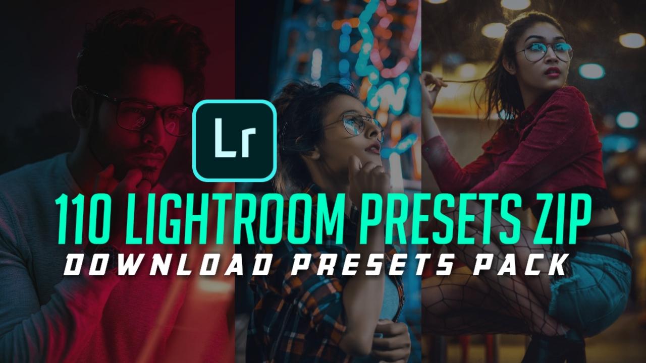 DOWNLOAD 110 LIGHTROOM MOBILE PRESETS 2019 ZIP FILE FREE DOWNLOAD