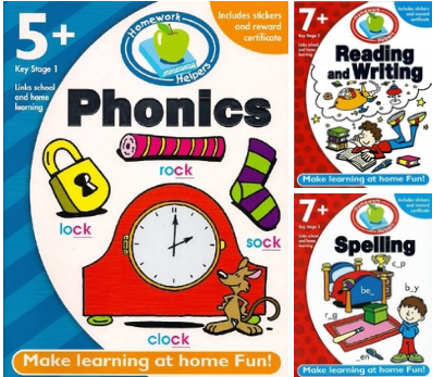 Make Learning at Home Fun! (Homework Helpers) 📘Phonics 📕Reading and Writing 📕Spelling