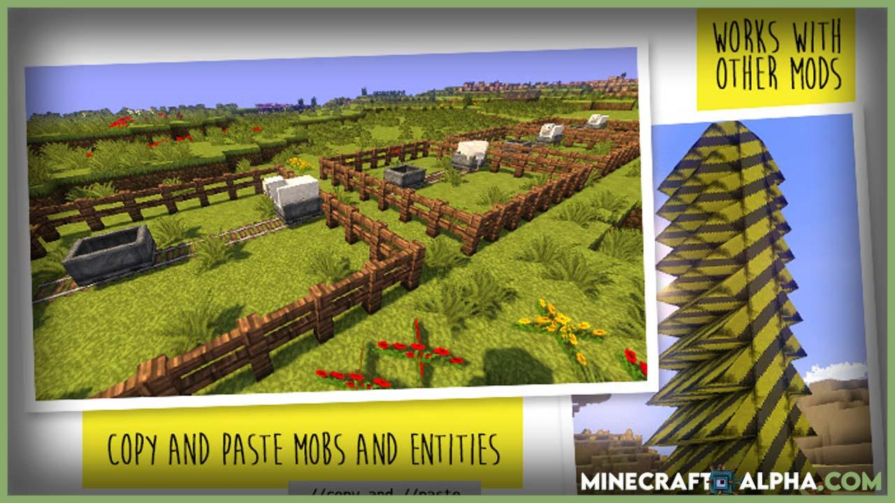 Minecraft WorldEdit Mod 1.17.1 (In-Game Voxel Map Editor)