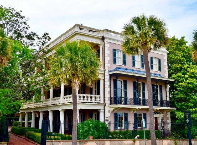 10 Things To Do In Charleston: #5 - See Edmonston Alston House | Ms. Toody Goo Shoes #Charleston
